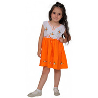 Zeynep-dress, orange