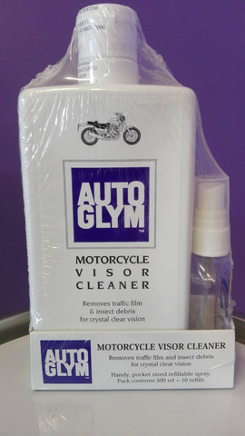 Autoglym Motorcycle visor cleaner