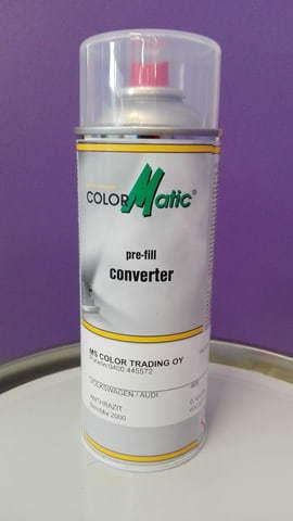 Spray sävyt teollisuuteen: RAL, NCS, PANTONE, RAUTARUUKKI