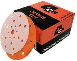 3345 Hiomapyörö ORANGE CUT filmi 150mm tarra 21 reik.