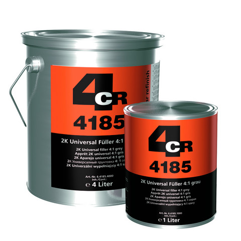4CR 4185 2K Universal pohjamaali 4L + Kovete 1L