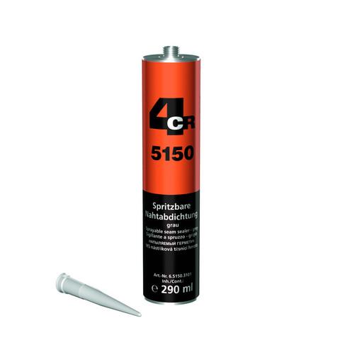 4CR 5150 Ruiskutettava saumatiivistemassa harmaa 290 ml