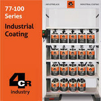 4CR Teollisuus -ja työkonemaalit eri kiiltoasteilla 1L