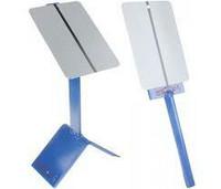4CR magneetilla varustettu pidike ja teline värimallien ruiskutukseen.