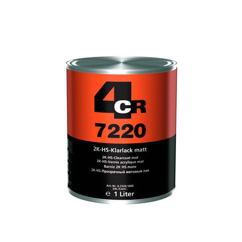 4CR 7220 Mattalakka 1L + kovettaja 0,5L