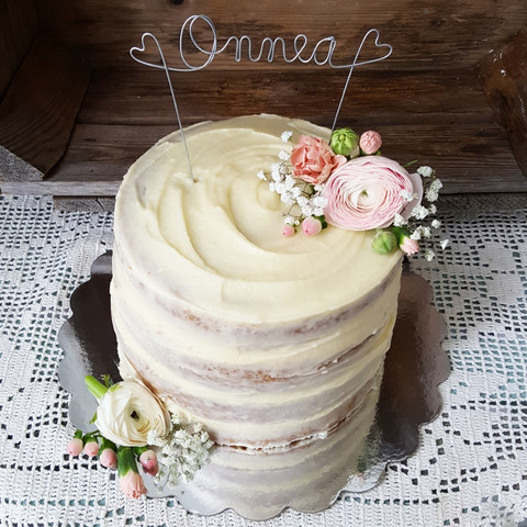 Kakkukoriste -Onnea