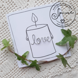 Kynttiläkoru- Love