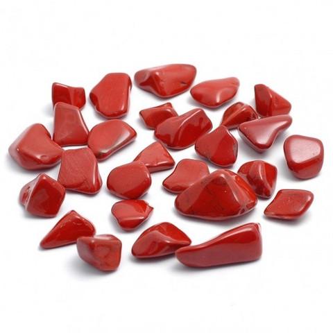 Jaspis - Punainen, rumpuhiottu
