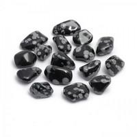 Lumihiutale - Obsidiaani, rumpuhiottu