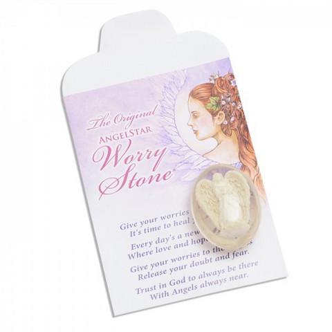 Worry Stone, Angelite (Huolikivi - Huolienkeli )