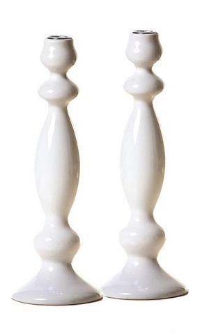 Kynttilänjalka, Valkoinen - 23 cm