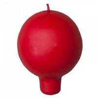 Pallokynttilä, kannallinen - Punainen ( 2kpl)