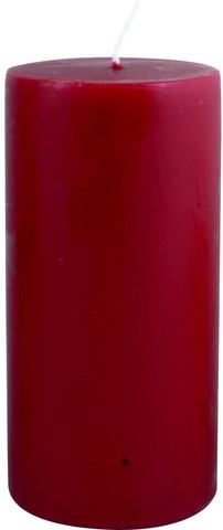 Kynttilä, punainen - 15cm