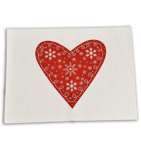 Pöytätabletti - Sydän, punainen