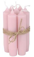 Kruunukynttilä, 11 cm - Vaaleanpunainen