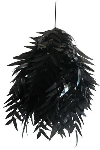 Kattovalaisin - Oriva, lehti musta
