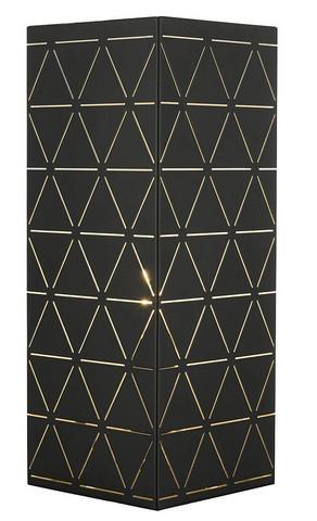 Pöytävalaisin - Oriva, Laserleikattu musta/ valkoinen