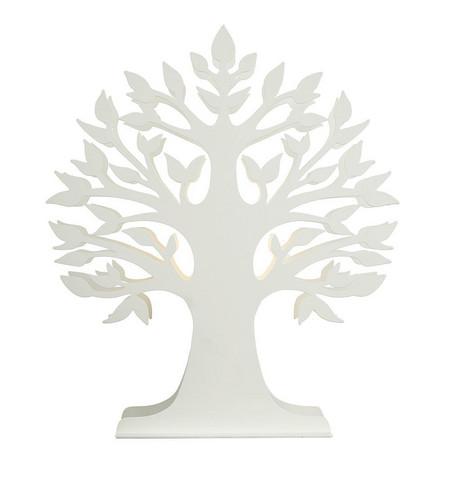 Pöytävalaisin - Oriva, Puu valkoinen