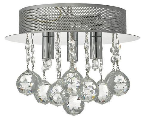 Plafondi - Oriva, Kristalli 25 cm