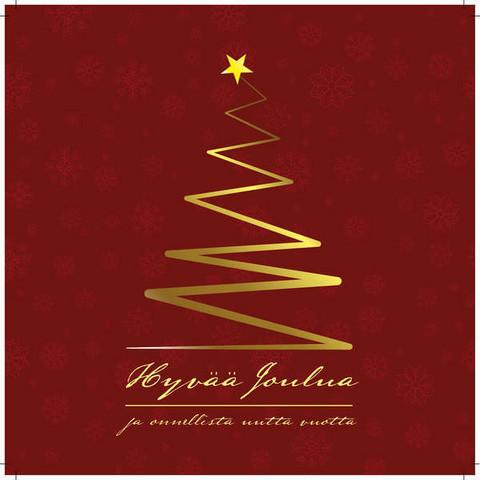 Joulukortti - Hyvää Joulua ja onnellista uutta vuotta!
