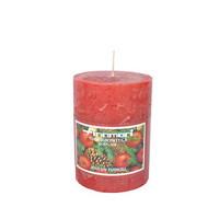Finnmari - Pöytäkynttilä 10 cm, punainen (Joulun tuoksu)