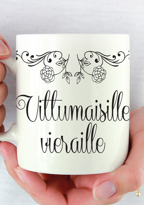 Kahvikuppi - Vierasvara