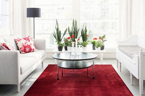 VM-Carpet - Satine, viininpunainen