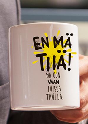 Kahvikuppi - Shh!