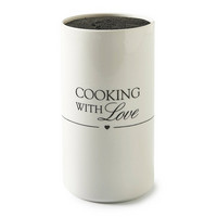 Cooking With Love Knife Holder - Riviera Maison