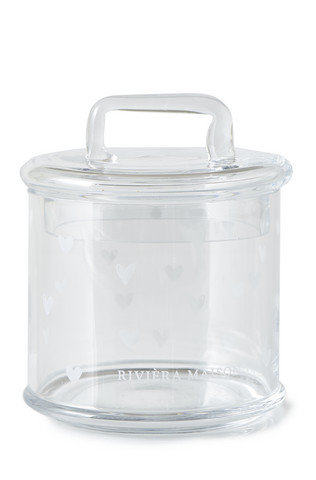 Lovely Heart Storage Jar - Riviera Maison