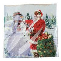 Servetti - Joulupukki, 33 x 33 cm