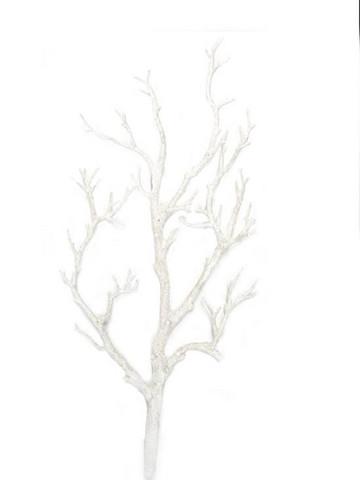 Koristeoksa, valkoinen - 45 cm