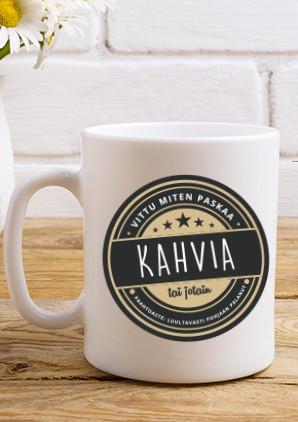 Kahvikuppi - Keitä ite, saatana