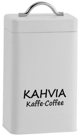 Kahvipurkki -Valkoinen