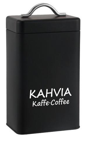 Kahvipurkki - Musta