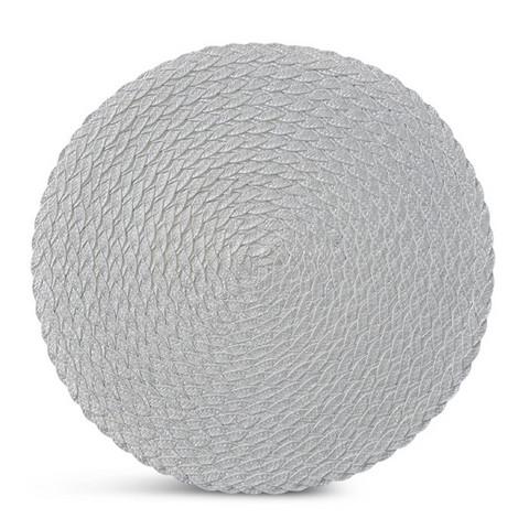 Pöytätabletti - pyöreä, valkoinen