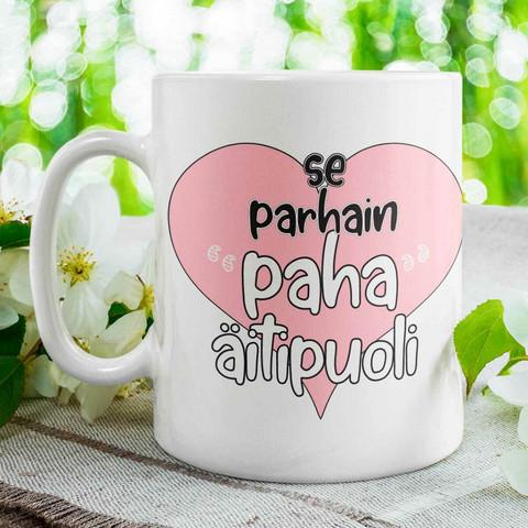 Kahvikuppi - Puolikas