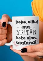 Kahvikuppi - Yrittäjä