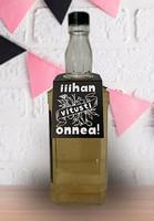 Onnitteluhärpäke pulloon