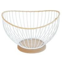 Finnmari - Metallikori, valkoinen