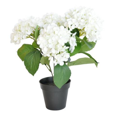 Finnmari - Hortensia ruukku, valkoinen