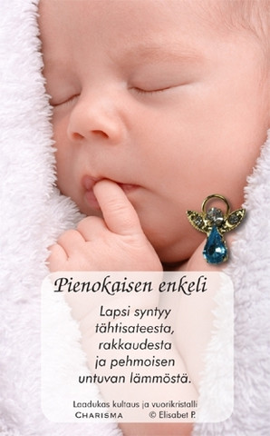 Enkeli - Pinssi, Pienokaiselle sininen