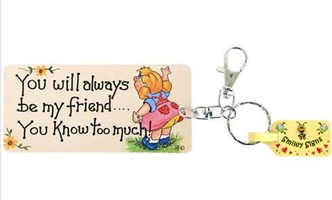 Avaimenperä, You Will Always Be My Friend
