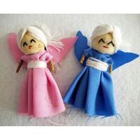 Guatemalaiset Huolinuket, Enkeli - Worry Dolls