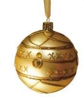 Joulupallo, Kultainen - 8 cm