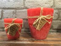 Kynttilä, Punainen - 9 cm