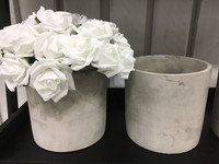 Finnmari - Ruusukimppu, valkoinen