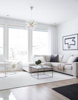 VM- Carpet - Hattara, valkoinen