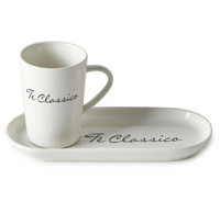 Tè Classico Cup And Saucer - Riviera Maison
