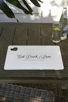 Eat Drink Love Placemat - Riviera Maison